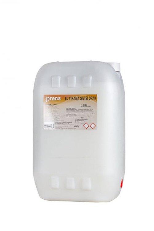 30 KG El Yıkama Sıvısı Opak Beyaz