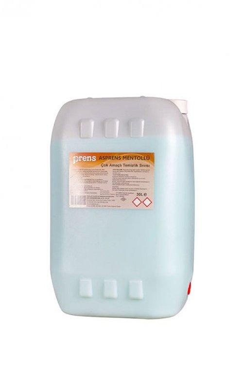 30 KG Asprens Çok Amaçlı Temizlik Sıvısı Mentollü