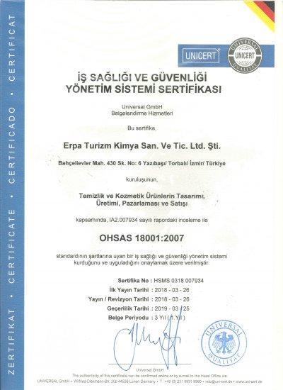 OHSAS 18001 TR